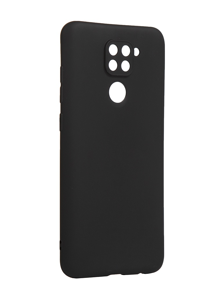Чехол Zibelino для Xiaomi Redmi Note 9 Soft Matte Black ZSM-XIA-RDM-NOT9-BLK
