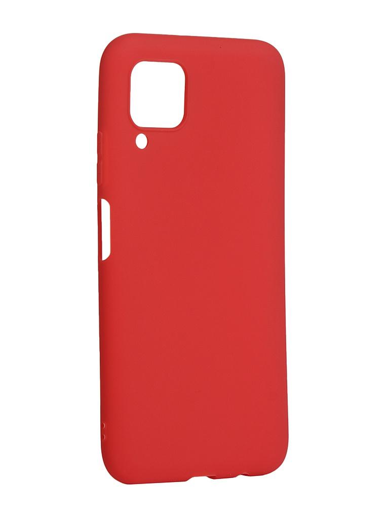 Чехол Zibelino для Huawei P40 Lite/Nova 6 SE Soft Matte Red ZSM-HUA-P40-LT-RED