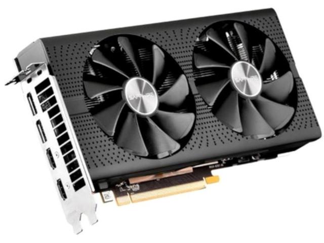 Видеокарта Sapphire Radeon RX 570 8G GDDR5 Pulse OC Lite 1284Mhz PCI-E 3.0 8192Mb 7000Mhz 256 bit DVI 2xHDMI HDCP 11266-75-20G