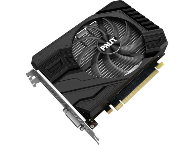 Видеокарта Palit GeForce GTX 1650 Super 1530MHz PCI-E 3.0 4096Mb 12000Mhz 128 bit DVI HDMI DisplayPort HDCP StormX NE6165S018G1-166F