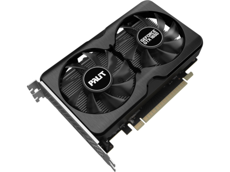 Фото - Видеокарта Palit GeForce GTX 1650 PA-GTX1650 GP OC 1410MHz PCI-E 3.0 4096Mb 12000MHz HDMI 2xDisplayPort NE61650S1BG1-1175A видеокарта palit nvidia geforce gtx 1660super pa gtx1660super gp oc 6g 6гб gddr6 oc ret [ne6166ss18j9 1160a]