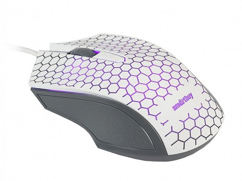 Мышь SmartBuy One SBM-334-W White
