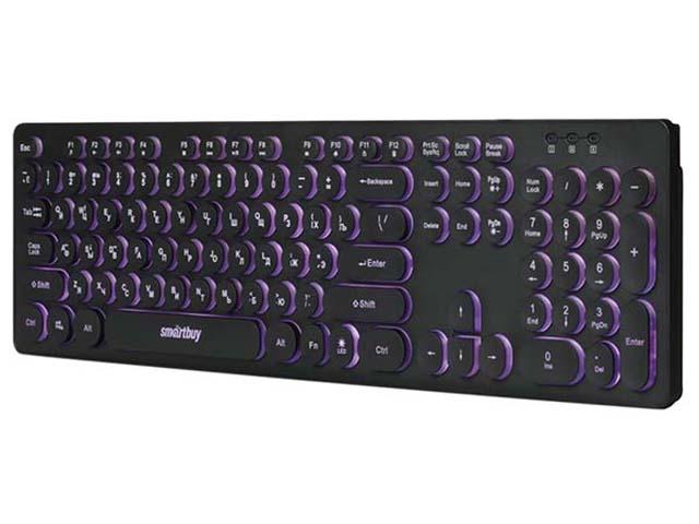 Клавиатура SmartBuy One SBK-328U-K Black