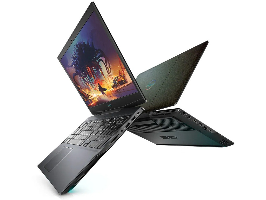 Ноутбук Dell G5 15-5500 G515-6000 (Intel Core i7-10750H 2.6GHz/16384Mb/1000Gb SSD/nVidia GeForce RTX 2070 8192Mb/Wi-Fi/15.6/1920x1080/Windows 10 64-bit) компьютер dell precision 3630 mt intel core i7 8700 3200 mhz 16gb 256gb ssd dvd rw nvidia geforce gtx 1080 10gb dos