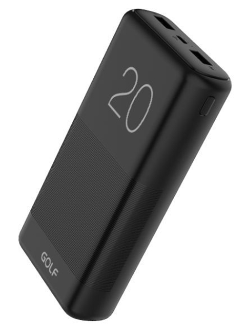 Внешний аккумулятор Golf Edgee G81 20000mAh Black
