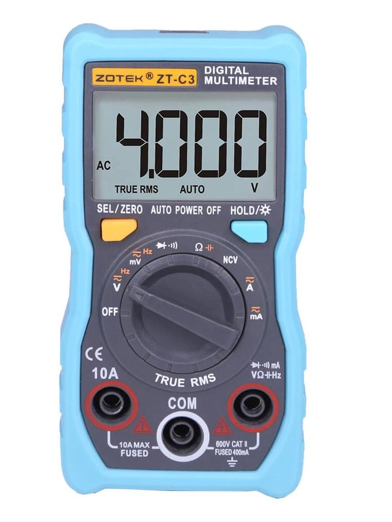 Мультиметр Zotek ZT-C3