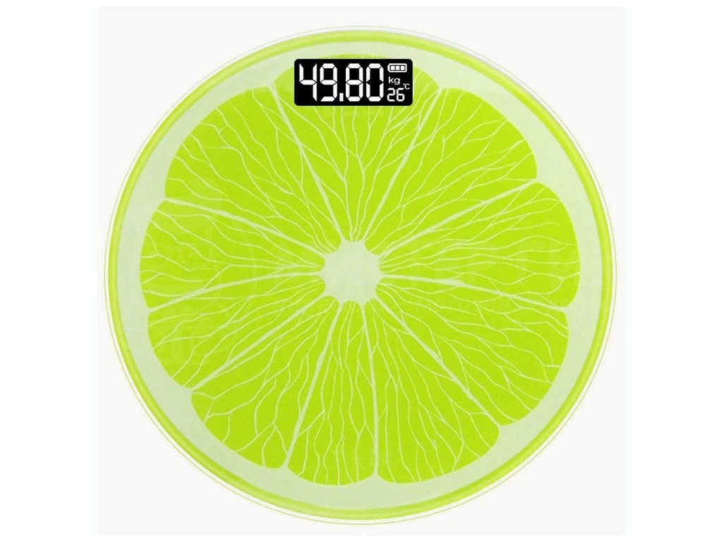 Весы напольные Activ Lime 117245