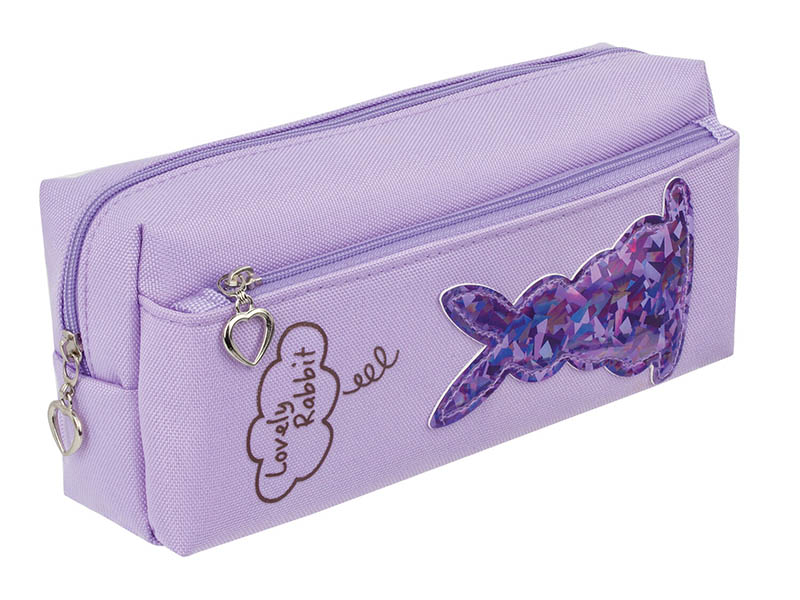 Пенал Юнландия Зайка Purple 228989