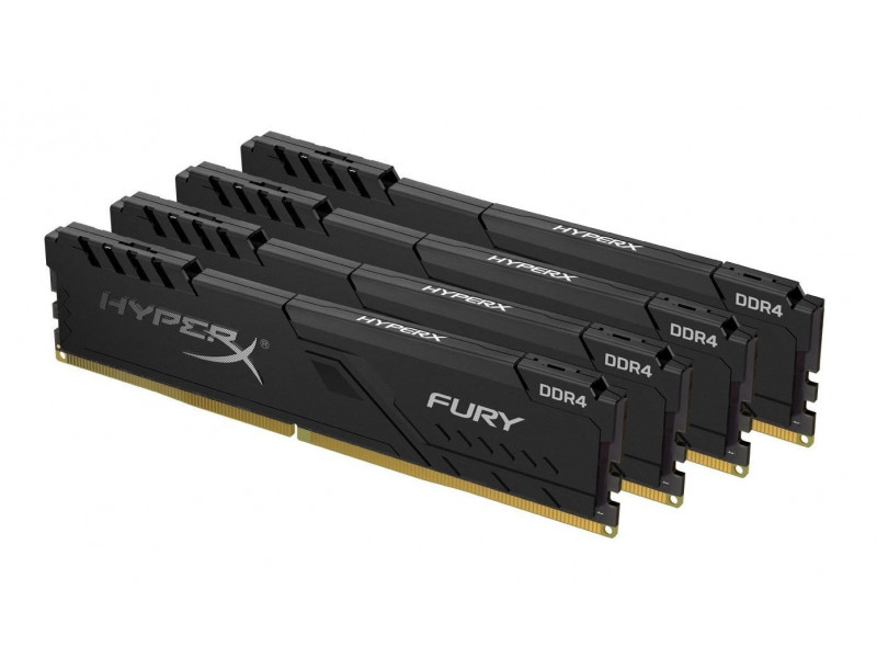 Модуль памяти HyperX Fury HX436C17FB3K4/64 Black