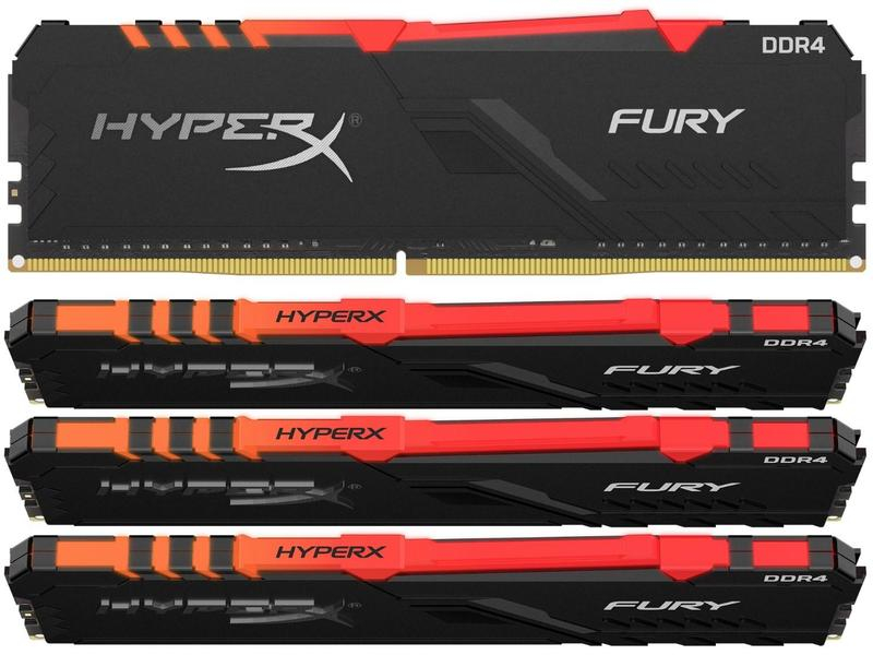 Модуль памяти HyperX Fury RGB HX436C17FB3AK4/64