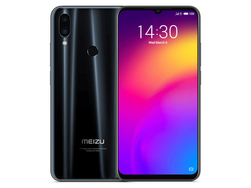 Сотовый телефон Meizu Note 9 4/64Gb Black Выгодный набор + серт. 200Р!!! meizu 15 64gb blue