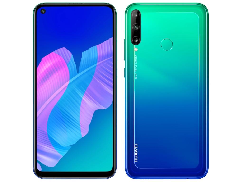 Фото - Сотовый телефон Huawei P40 Lite E NFC 4/64Gb Aurora Blue сотовый телефон huawei y7 2019 4 64gb aurora purple