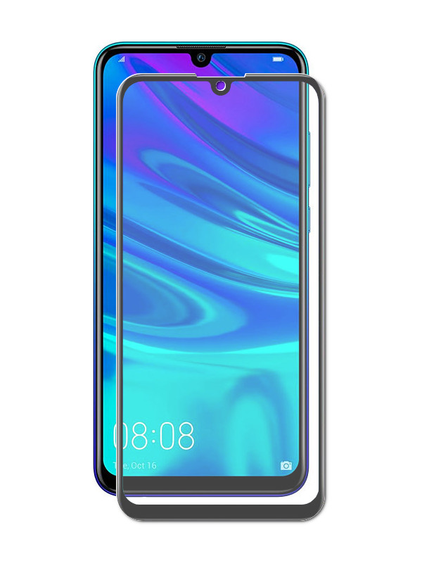 Защитное стекло Krutoff для Huawei P Smart 2019/P + 2020/Honor 20i/Honor 20 Lite/Honor 20e Full Glue Premium Black 22767