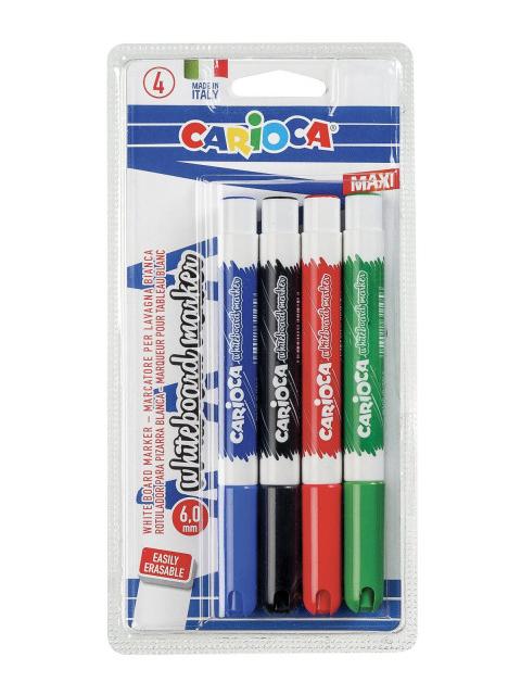 Маркер Carioca 4 цвета 6мм 42942