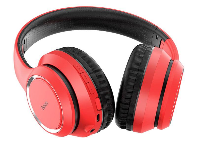 Наушники Hoco W28 Red
