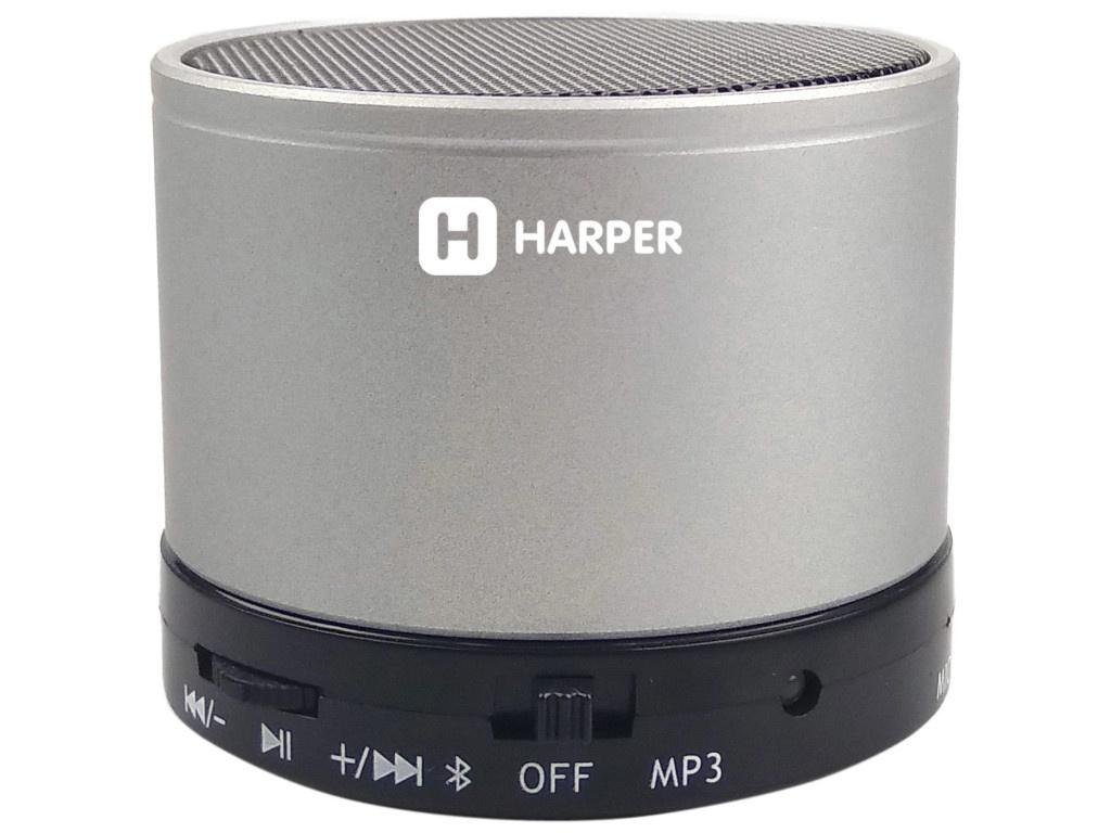 Колонка HARPER PS-012 Silver