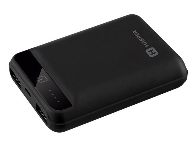 цена на Внешний аккумулятор HARPER PB-10005 Black