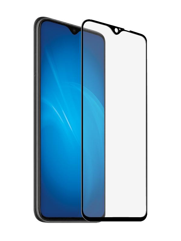Защитное стекло Krutoff для Xiaomi Redmi Note 8 Full Glue Premium Black 22795
