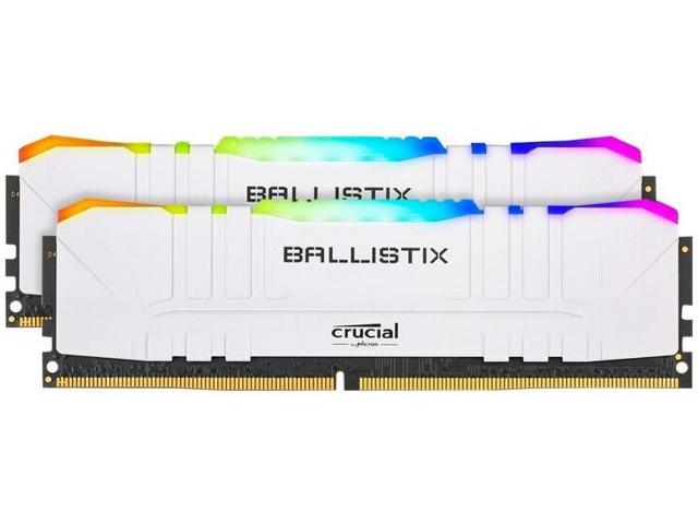 Модуль памяти Crucial Ballistix RGB BL2K16G30C15U4WL White
