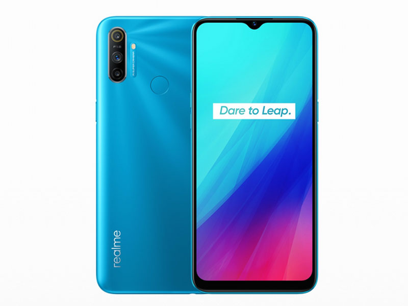 Сотовый телефон Realme C3 3/64Gb LTE Blue Выгодный набор + серт. 200Р!!!