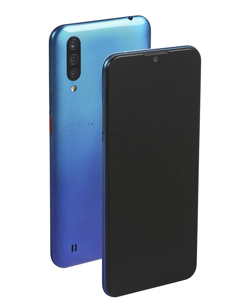 Сотовый телефон ZTE Blade A7 2020 3/64Gb Blue Выгодный набор + серт. 200Р!!! сотовый телефон zte blade v9 3gb ram 32gb gold