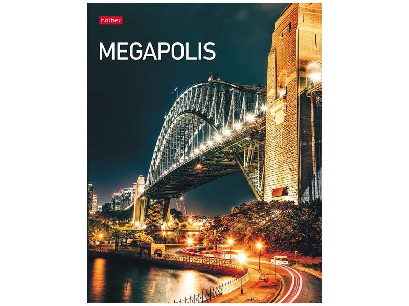 Тетрадь Hatber Megapolis A5 240 листов 240ТК5В1_23148