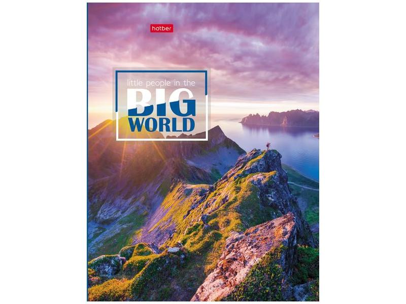 Тетрадь Hatber Большой мир A5 120 листов 120ТК5В1_16865