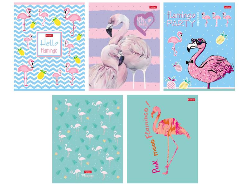 Тетрадь Hatber Фламинго A5 18 листов 18Т5тВ1