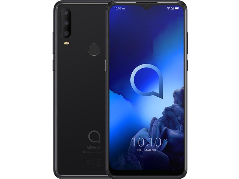 Сотовый телефон Alcatel 3X 2019 5048Y DS 4Gb/64Gb Black Выгодный набор + серт. 200Р!!!