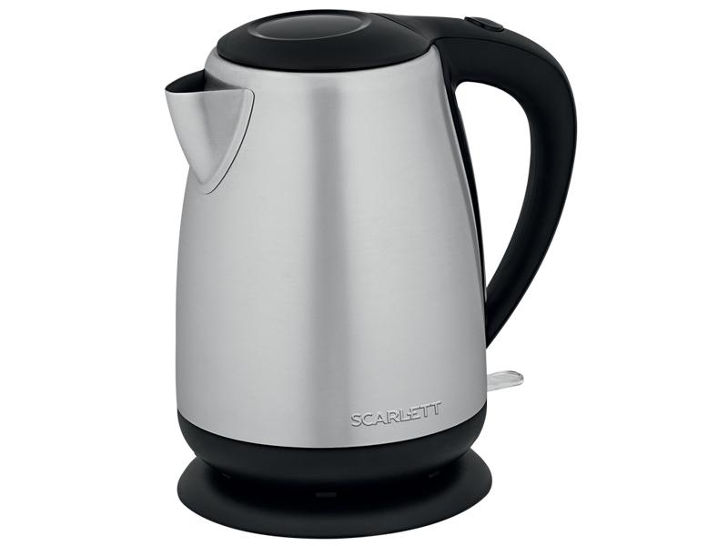 Фото - Чайник Scarlett SC-EK21S93 Steel-Black чайник электрический scarlett sc ek21s93
