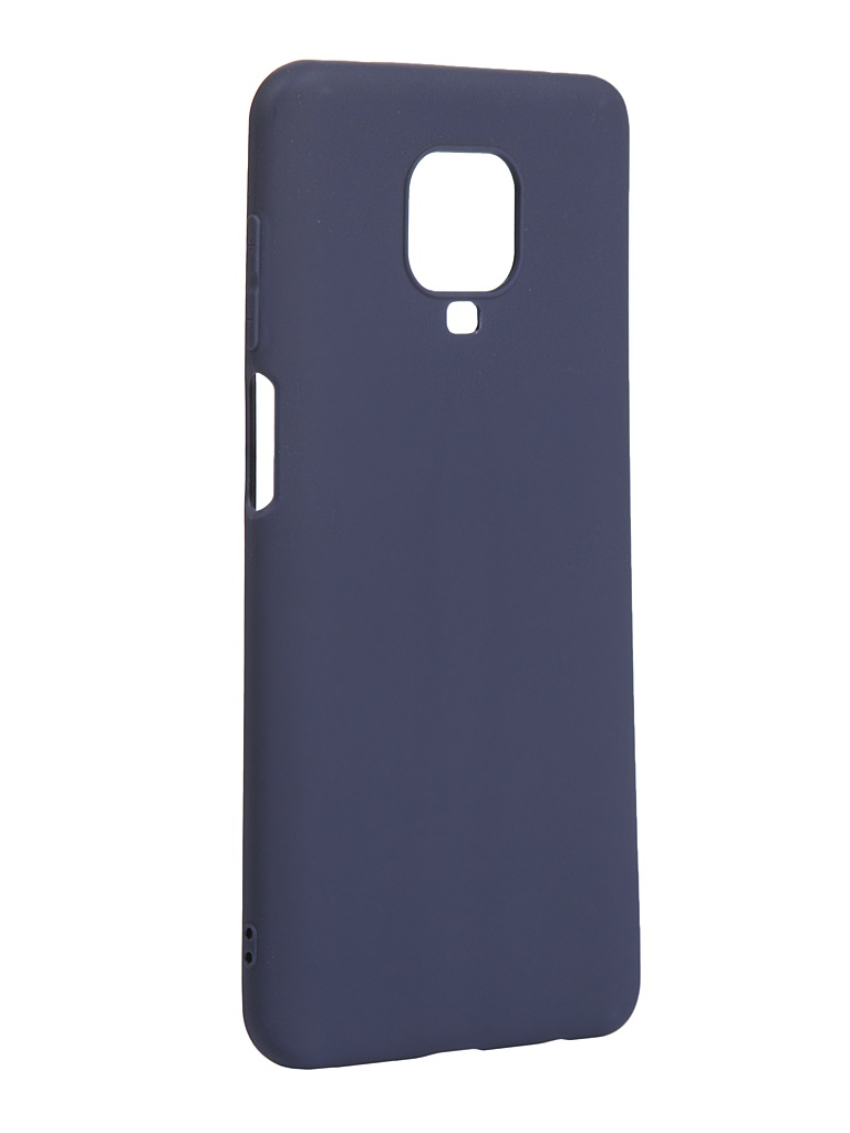 Чехол Zibelino для Xiaomi Redmi Note 9S / 9 Pro Soft Matte Dark Blue ZSM-XIA-RDM-NOT9S-DBLU