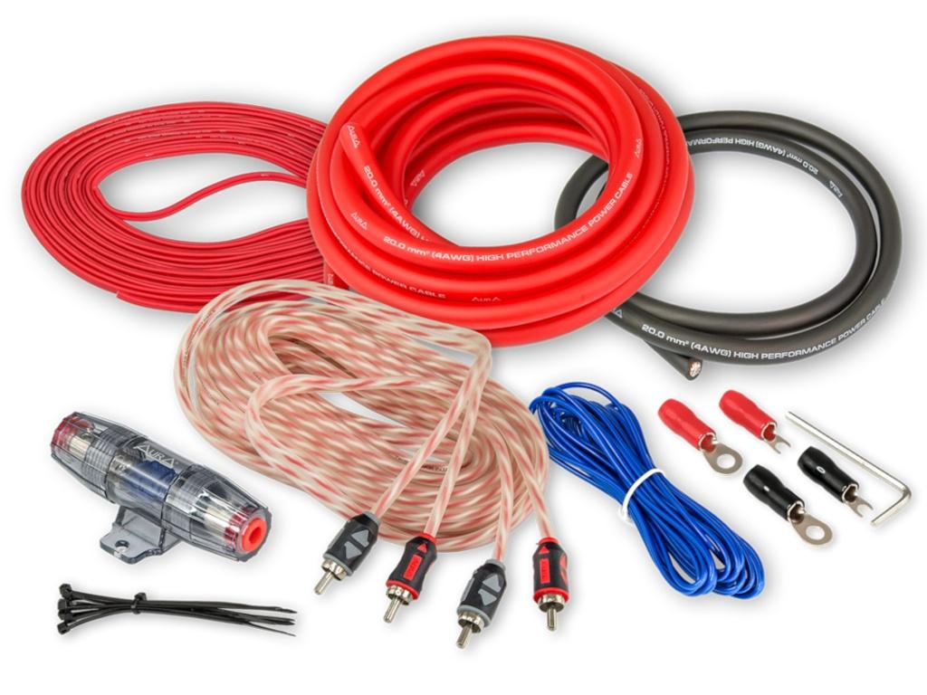 Комплект проводов Aura 2-х канальных AMP-2204