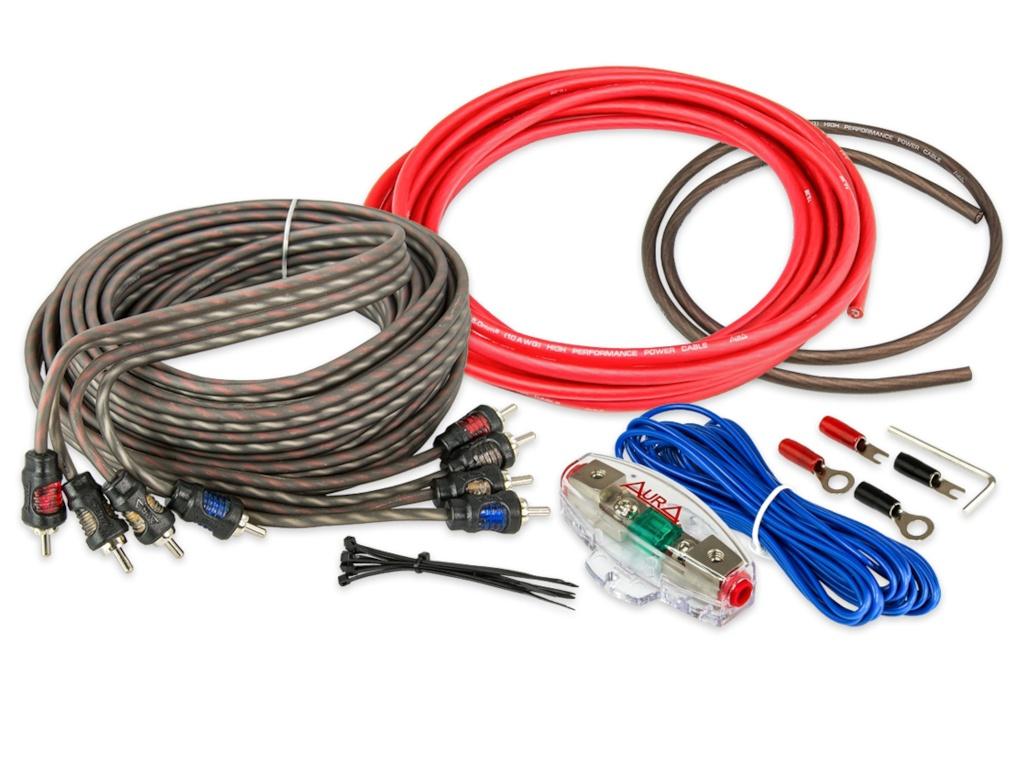 Комплект проводов Aura 4-х канальных AMP-1410