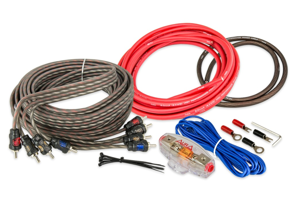 Комплект проводов Aura 4-х канальных AMP-1408