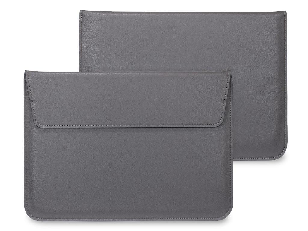 Аксессуар Чехол Palmexx для APPLE MacBook Air 15.4 MacCase иск. кожа Grey PX/LAET NEW AIR15 GREY