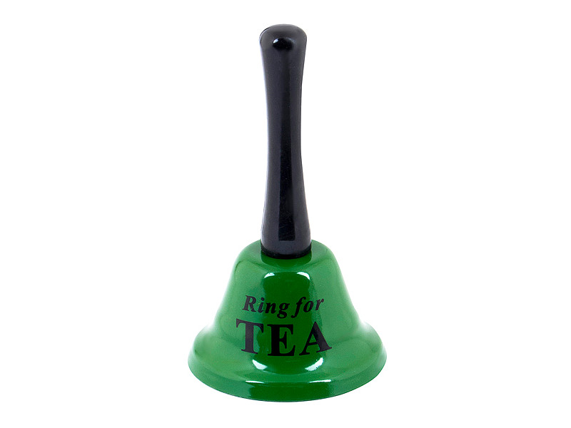 Колокольчик Эврика Ring For Tea Green 93764