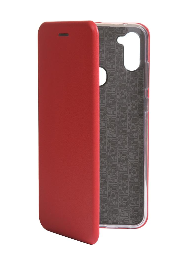 Чехол Zibelino для Samsung Galaxy M11 M115 Book Red ZB-SAM-M11-RED
