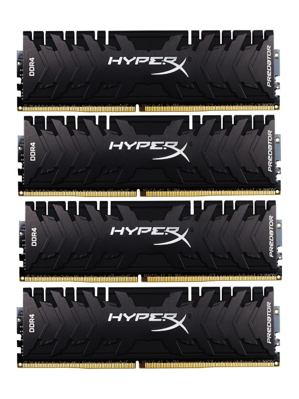 Модуль памяти HyperX Predator DDR4 DIMM 2666Mhz PC21300 CL13 - 64Gb KIT(4x16Gb) HX426C13PB3K4/64