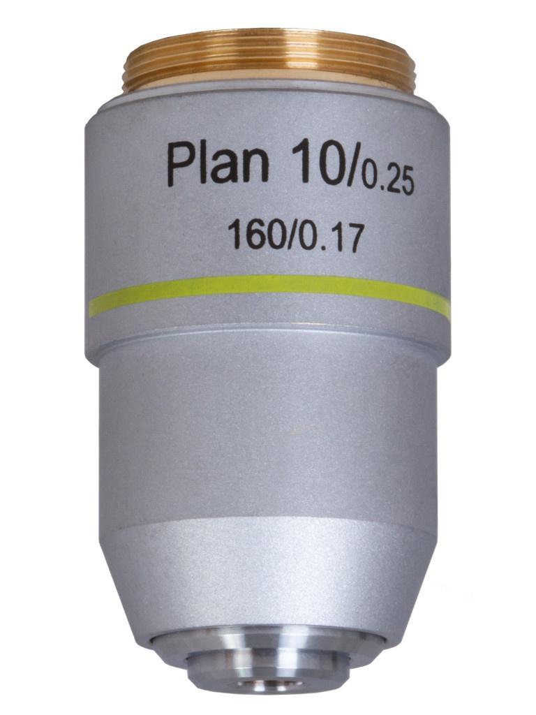 Объектив планахроматический Levenhuk MED 10x 76069