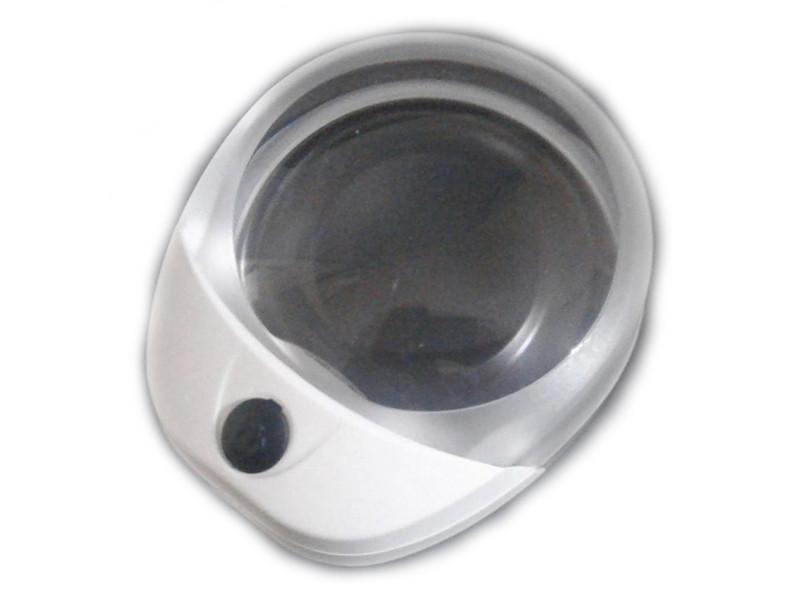 Лупа настольная Kromatech PW6010C 10x-60mm с подсветкой 1 LED 23149b249