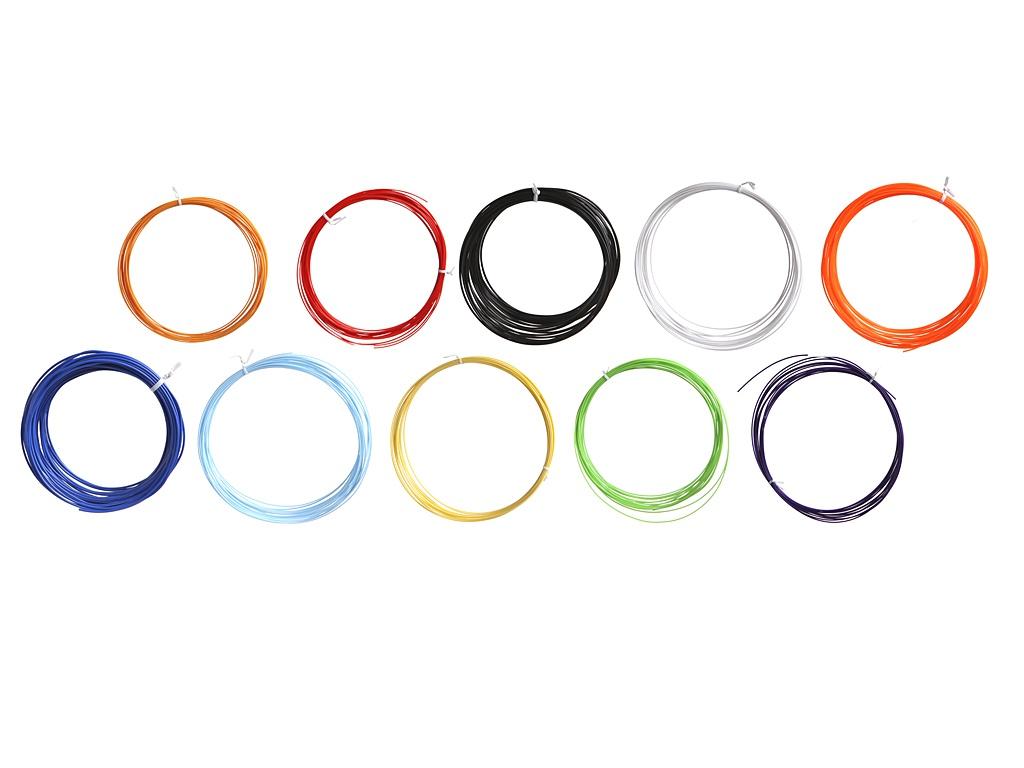 Аксессуар Kromatech PLA-пластик 10 цветов по 10m 18149ac005 1 75mm pla 3d printer filament printing refills 10m