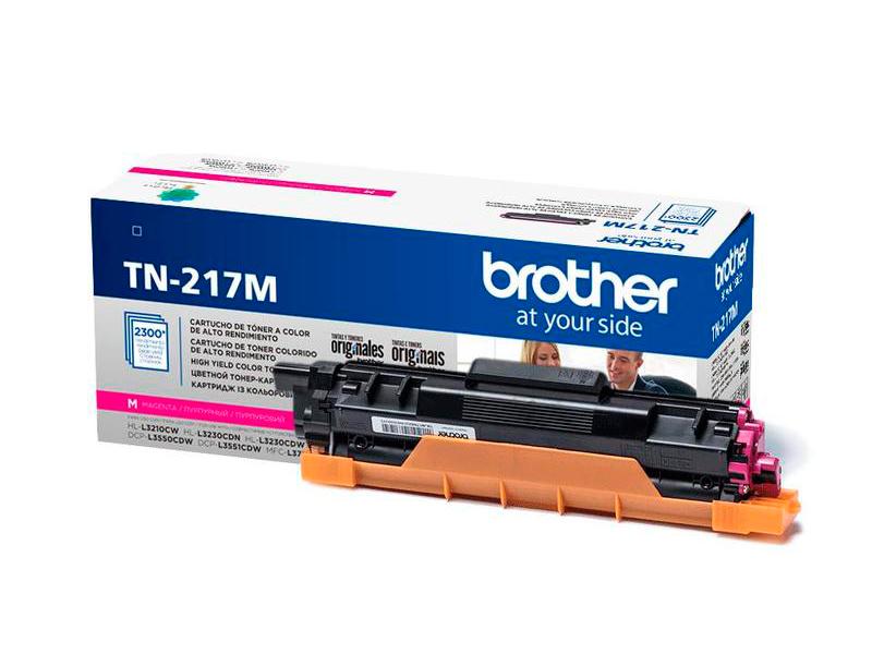 Картридж Brother TN-217M Magenta для MFC-L3770CDW/DCP-L3550CDW/HL-L3230CDW