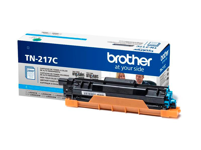 Картридж Brother TN-217C Cyan