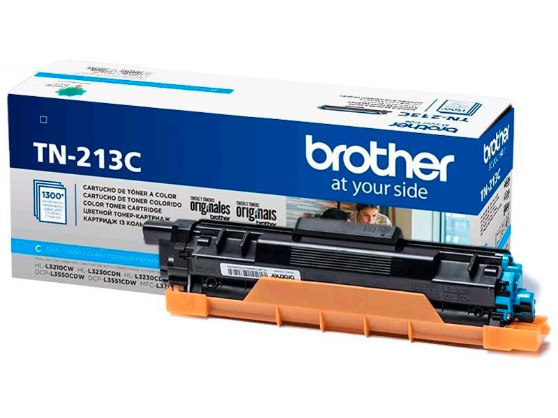 Картридж Brother TN-213C Cyan для DCP-L3550/HL-L3230/MFC-L3770 картридж brother tn 326c cyan для 8250 89200 8650 9550 3500стр