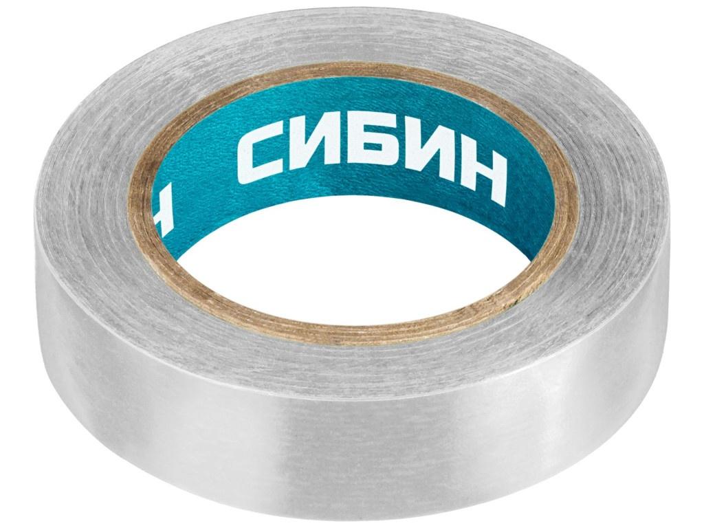 Изолента Сибин ПВХ 15mm x 10m White 1235-8