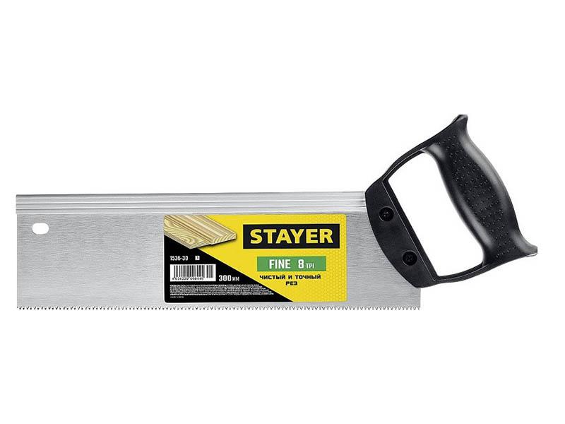 Пила Stayer Fine 300mm 1536-30_z01