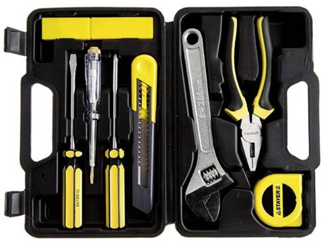 Набор инструмента Stayer Standart 8 предметов 2205-H8