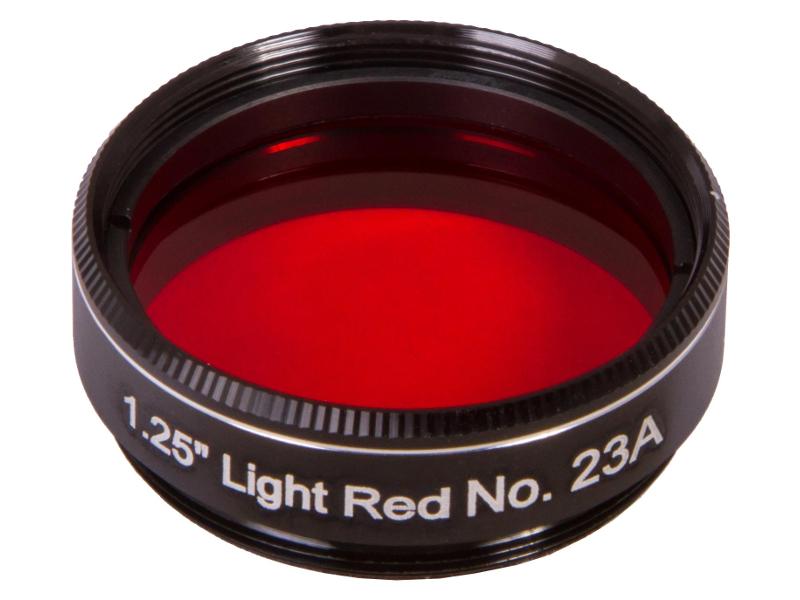 Светофильтр Synta Explore Scientific №23A 1.25 Light Red 73777 светофильтр explore scientific светло синий 82a 1 25
