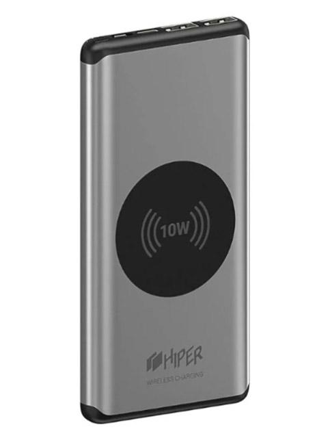 Внешний аккумулятор HIPER Nano X 10000 Silver