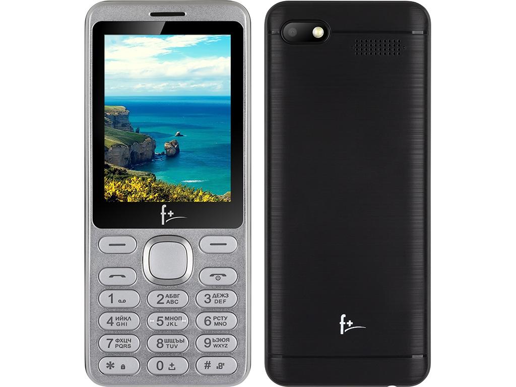 Сотовый телефон F+ S286 Silver